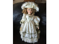 Selection of Alberon Collectable Dolls