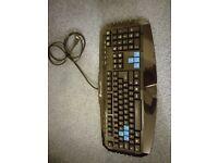 Sharkoon Skiller computer keyboard