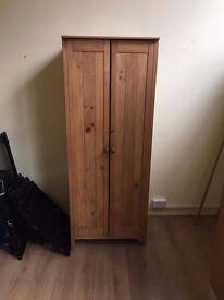Pine wardrobe - Ikea cube bookcase shelve White - Kitchen cabinet