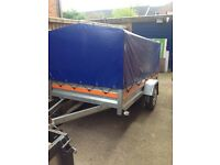 Car box trailer Camping trailer one axle 750kg