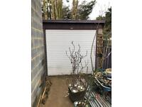 Concrete, Prefab Panel Garage with Remote Door