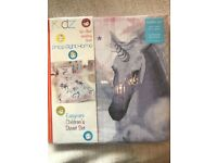 Stardust 4 in 1 toddlers bedding set - unicorn