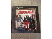 Collectors vinyl BLACK SABBATH -SABOTAGE
