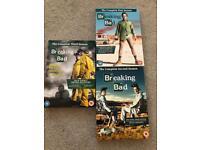 Breaking Bad - season 1,2 & 3 dvd