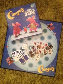 Clangers board game - Complete and in excellent condition. Never played with.