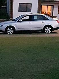 Audi A4 B6 12000 mileage m.o.t sep17
