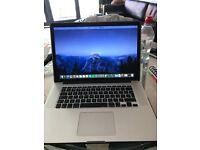 MacBook Pro (10 months old) mid 2015 version