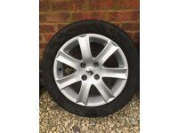 Peugeot Alloy Wheels x4 (207 GT style)