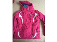 Girls No Fear Ski Jacket VGC size 9-10