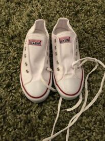 Converse trainers size 3