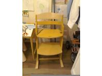 Baby Dan adjustable highchair and cushion