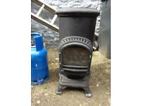 Thorcroft calor gas stove in very good condition, includes Calor gas cylinder very good condition