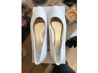 Lacey flat wedding shoes
