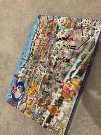 Winter puzzle 1000 pieces