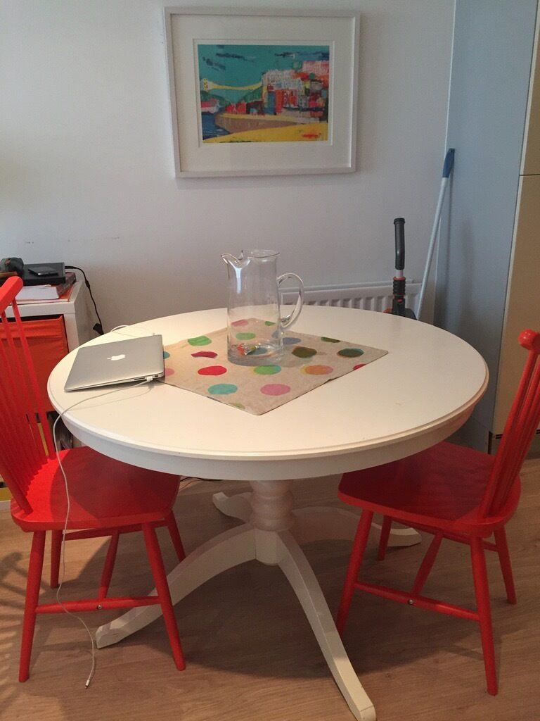 Dining Table Ikea Ingatorp Great Condition In