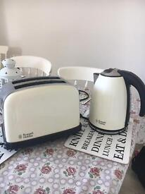 Russell Hobbs Kettle and Toaster Set
