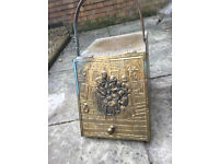 Antique Coal Scuttle