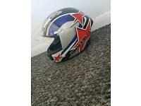 Motorcycle helmet size s