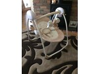 Baby bouncer/swing, brand new never used was bought as a present