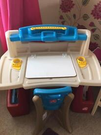 Kids smoby desk