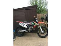 Ktm sxf 350 2016 motocross bike