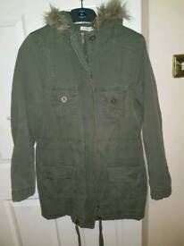 Brand new George Dark green Parka jacket