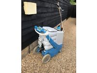 Prochem Steempro 2000 Carpet & Upholstery cleaning machine with tools, chemicals & equipment