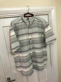 Vintage men's short sleeve shirt size L