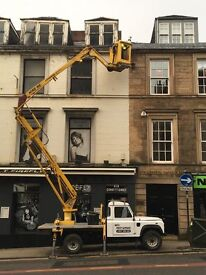 Painter Exterior painting cherry picker specialists west end jordanhill newton mearns Glasgow