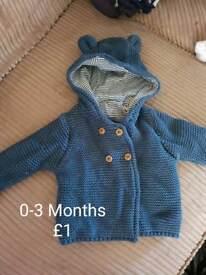 0-3 Months baby boy