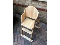 """Mothercare folding high chair """"Valencia"""""""