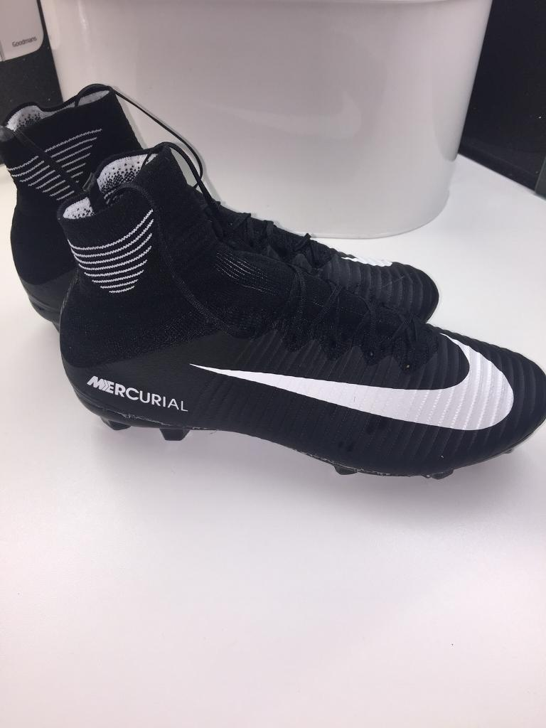 NIKE MERCURIAL SOCK BOOTS SIZE 6.5 FOOTBALL BOOTS