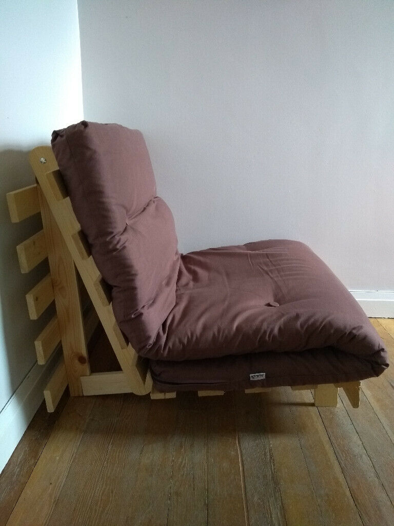 2 In 1 Argos Single Futon Sofa Bed With Mattress Brown South East London Gumtree