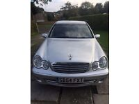 Mercedes C180K (facelift), 6 speed manual in silver, black leather interior, well cared for