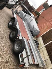Brian James transporter trailer