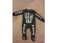 Halloween baby all one one 3-6 months