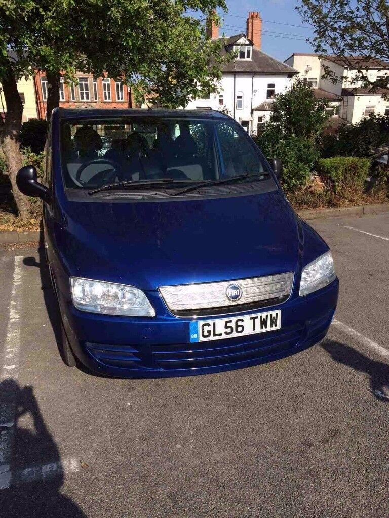 Fiat Multipla Dynamic JTD 2006 FULL 12 month MOT