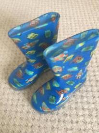 Boys robot boots
