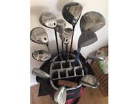 Selection of golf clubs £5 each