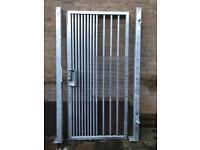 Security Gate (Galvanised)