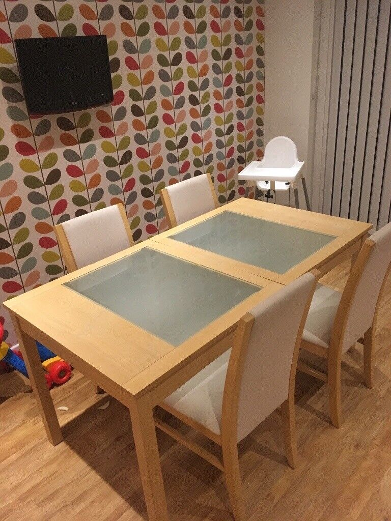 House Of Fraser Solid Wood Dining Room Table In Swindon