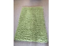 Green Rug from Next in fantastic condition