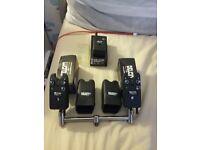 2 delkim txi plus alarms and receiver