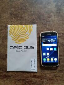 Samsung Galaxy S7 Smart Phone, Black Onyx