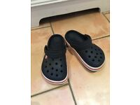 Crocs size 1, great condition.