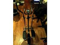 Pro fitness elliptical machine