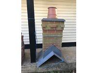 Fiber glass chimney