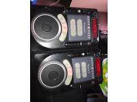 Pair of Numark axis 9s