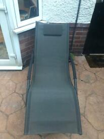 *REDUCED* Sun lounger rocking chair