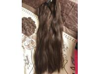 """24-26"""" Remy Human Hair Extensions"""